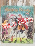 bk-140610-05 Sleeping Beauty / 50's Picture Book