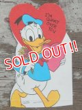 ct-140318-72 Donald Duck / 60's Valentine's Card