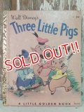 bk-140509-06 Three Little Pigs / 40's Picture Book