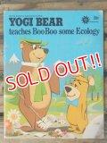 bk-140610-11 Yogi Bear teaches Boo Boo some Ecology 1974 Picture Book
