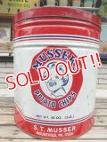 dp-140508-08 Musser's Potato Chips / Vintage Tin Can