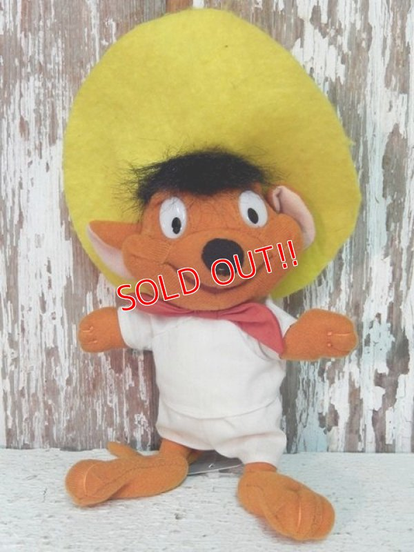 画像1: ct-140516-62 Speedy Gonzales / 90's Plush Doll