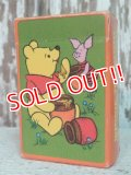 ct-140516-104 Winnie the Pooh / Hallmark 70's Miniature Playing Cards