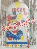 ct-140508-07 JOCKO / Vintage Pinball
