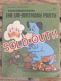 bk-140617-03 Huckleberry Hound / The Un-Birthday Party 1975 Picture Book