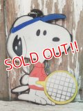 ct-140624-22 Snoopy / 80's Rubber Keychain