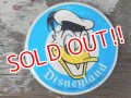 ct-140617-20 Donald Duck / Disneyland 70's Pinback