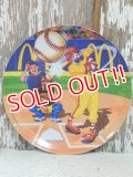 "ct-130924-15 McDonald's Collectors Plate / 2006 ""Baseball"""