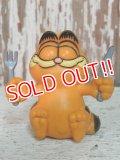 "ct-140708-12 Garfield / 80's PVC ""Fork & Knife"""