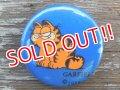 ct-130319-52 Garfield / 70's mini Pinback