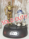 ct-140805-24 STAR WARS / Think way 1995 C-3PO & R2-D2 Talking Bank