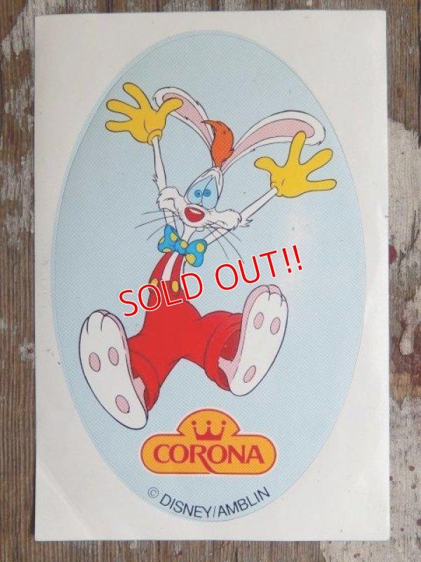 画像1: ad-140896-01 Roger Rabbit / 80's Sticker