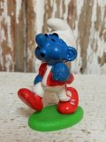 "ct-140806-17 Smurf / PVC ""Jogging Simca"" #20172"