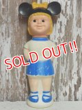 sk-140820-02 Mickey Mouse Club / 60's Mouseketeer Soaky (Blue)