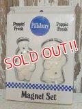 ct-140820-17 Pillsbury / Poppin Fresh & Poppie Fresh 80's Magnet