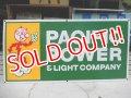 "dp-111215-04 Reddy Kilowatt / ""PACIFIC POWER & LIGHT COMPANY"" 60's sign"