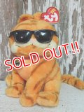"ct-140909-25 Garfield / Ty Beanie Babies 2004 Plush Doll ""Cool Cat"""