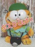 "ct-140909-25 Garfield / R.DAKIN 80's Plush Doll ""Camera"""