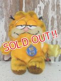 "ct-140909-25 Garfield / R.DAKIN 80's Plush Doll ""Angel"""