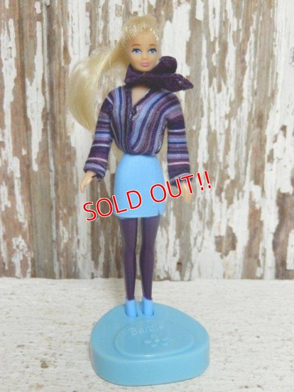 """画像1: ct-141001-10 Barbie / McDonald's 1999 Meal Toy """"Chic Barbie"""""""