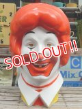 ct-141001-17 McDonald's / 70's Ronald McDonald Balloon Head Display