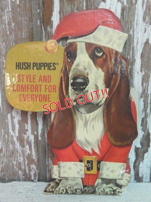 """画像1: ct-141001-25 Hush Puppies / 70's Cardboard sign """"Style and Comfort for Everyone"""""""