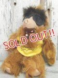"ct-141002-05 ALF / 80's Plush doll ""No Problem ""Yellow"""