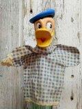 ct-141007-07 Donald Duck / Gund 50's Hand Puppet