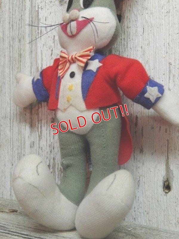 """画像3: ct-141014-07 Bugs Bunny / DAKIN 70's Plush doll """"Uncle Sam"""""""