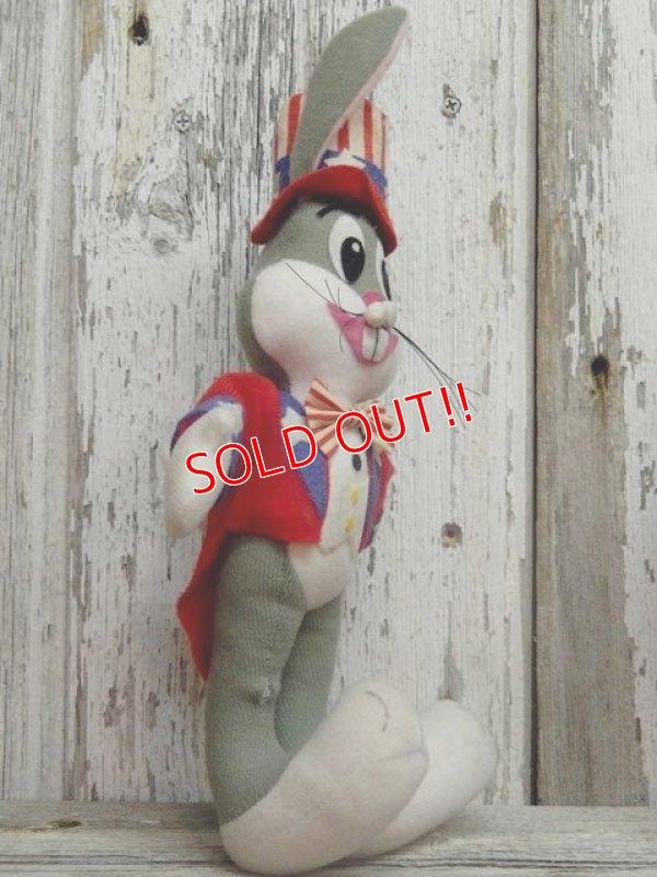 """画像4: ct-141014-07 Bugs Bunny / DAKIN 70's Plush doll """"Uncle Sam"""""""