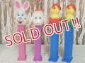pz-130917-04 Easter / 90's PEZ Dispenser Set of 4