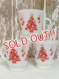 dp-141101-23 Hazel Atlas / 60's-70's Christmas Tree Mug