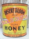 dp-141101-18 Desert Bloom / Vintage Pure Honey Tin Can