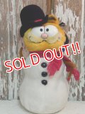 "ct-140909-25 Garfield / Dakin 80's Plush Doll ""Snowman"""