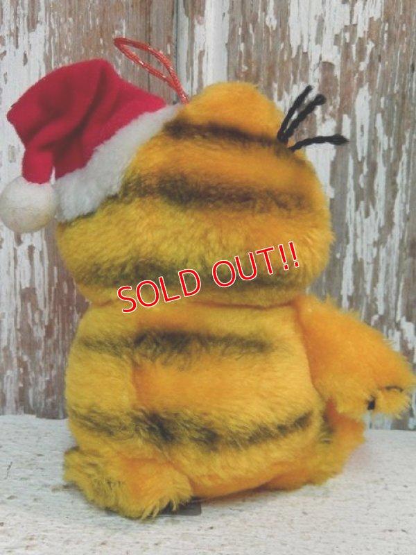 """画像4: ct-140909-25 Garfield / Dakin 80's Plush Doll """"Santa"""""""
