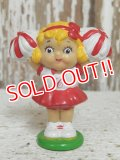 "ct-141118-15 Campbell Kid's / 80's PVC ""Cheer Girl"""