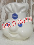 "ct-141201-43 Pillsbury / Poppin Fresh 90's Talking Cookie Jar ""Head"""