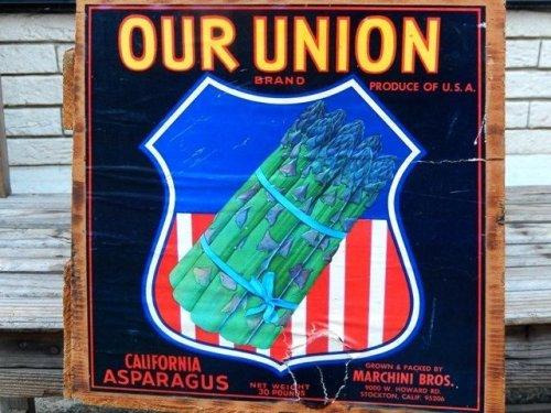 他の写真1: dp-141215-02 OUR UNION BRAND / 60's Wood Box