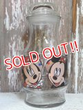 gs-141217-12 Mickey,Minnie & Donald / 90's Glass Jar