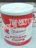 dp-141216-06 TOP-ER'S / Vintage Potato Chips Can
