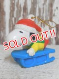 ct-141216-53 Snoopy / Whitman's 90's PVC Ornament (F)