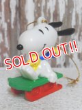 ct-141216-53 Snoopy / Whitman's 90's PVC Ornament (E)