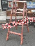 dp-150115-13 Vintage Wood Ladder