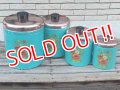 dp-150101-10 Ransburg / Vintage Turquoise blue canister 4pc