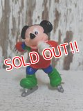 "ct-141209-77 Mickey Mouse / Applause PVC ""Ice skating"""