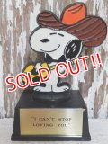 "ct-150127-04 Snoopy / AVIVA 70's Trophy "" I Can't Stop Loving You"""