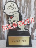 "ct-150127-03 Snoopy / AVIVA 70's Trophy ""I Like You"""