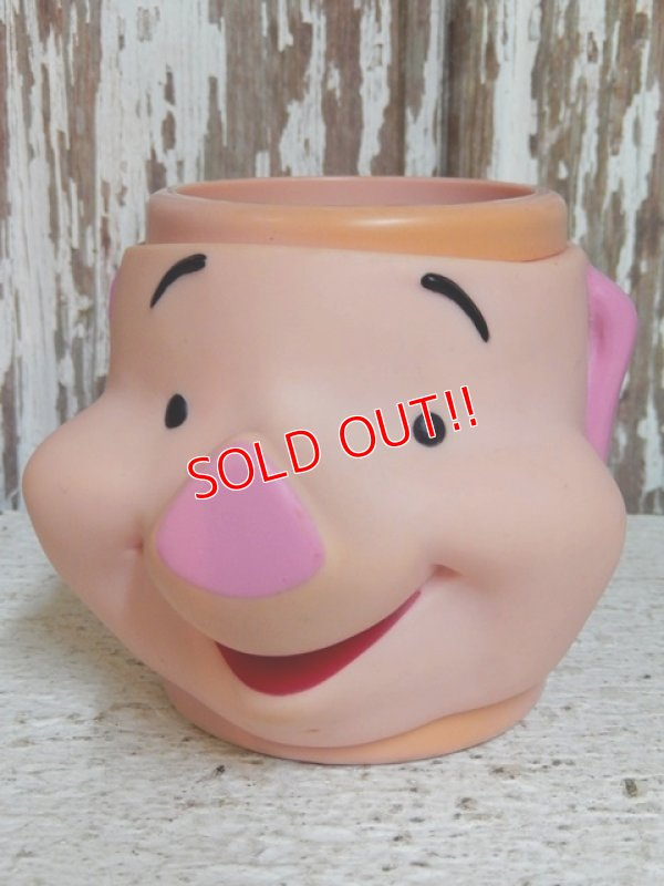画像1: ct-150224-03 Piglet / Applause 90's Face Mug
