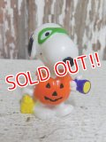 "ct-150310-71 Snoopy / Whitman's 1996 PVC ""Jack-O-Lantern"""