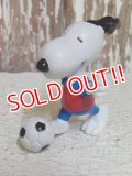 "ct-150311-17 Snoopy / Schleich PVC ""Soccer"""
